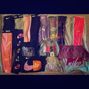 Nike Girls Size 4T Lot 18 pieces